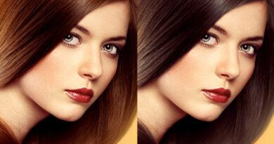 Color de pelo según los ojos y el rostro