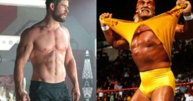 Chris Hemsworth de Thor a luchador