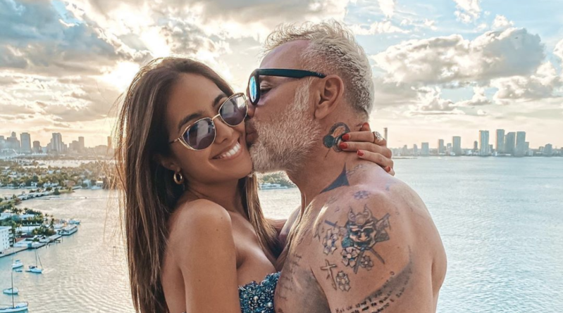 sharon fonseca novia de Gianluca Vacchi muestra su embarazo