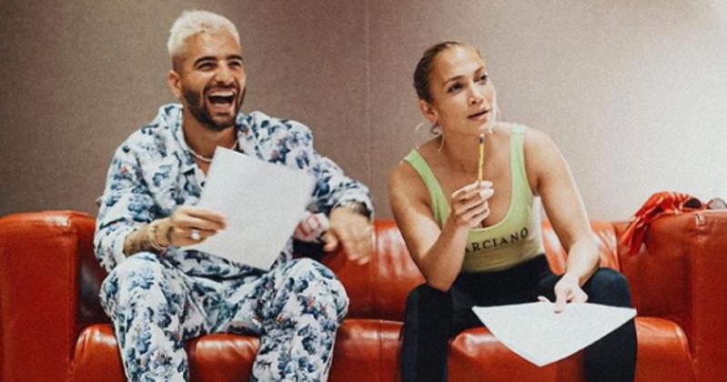 Maluma y Jennifer López preparan música nueva juntos