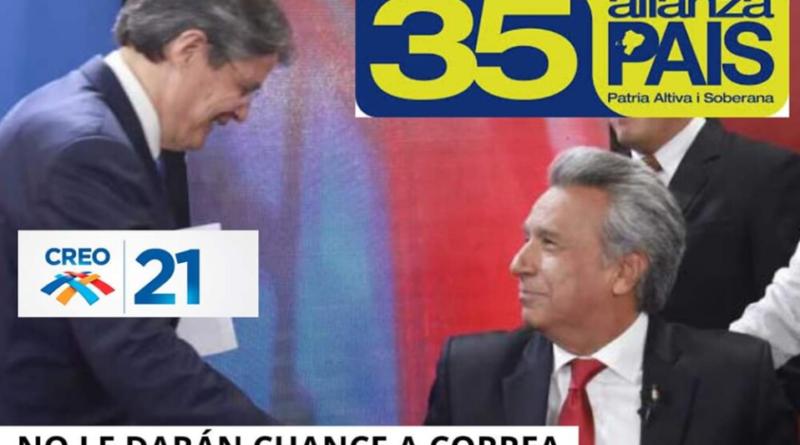 #RafaelCorrea, #GuillermoLasso, #AlianzaPaís, #leninMoreno;