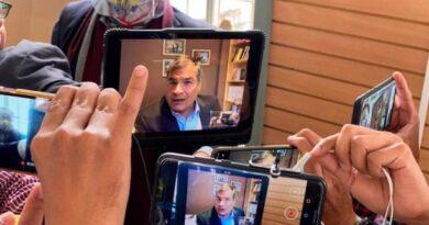 #CNE, #Vicepresidencia, #RafaelCorrea, #videoconferencia, #AndrésArauz,