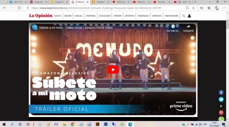 #MenudoChallenge, #tiktokeros, #éxitomundial, #grupomusicaladolescente, #boybandlatinoamericana,