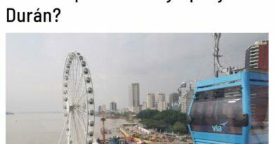 ¿Qué debes saber de la Aerovía que une Guayaquil y Durán?