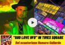 "Homero Gallardo presenta ""GOD LOVE UFO"""