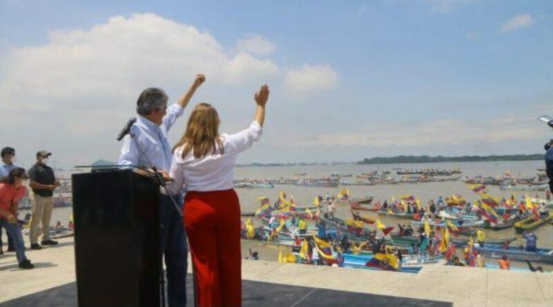 Guillermo Lasso cerró campaña en Guayaquil y pidió una oportunidad para servir al Ecuador