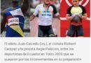 Medalla de papel por maltratar a los deportistas para Los directivos del Comité Olímpico Ecuatoriano
