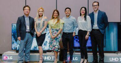 LG Electronics realizó exhibición de su nueva línea de Televisores