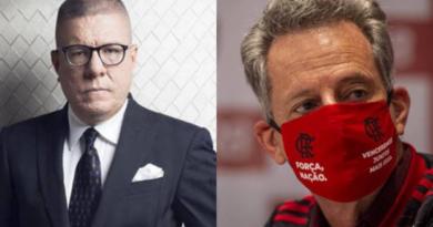 Club Flamengo de Brasil, derecho a la réplica, TC Televisión,Vito Muñoz